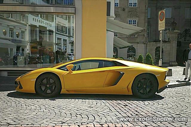 Lamborghini Aventador Spotted In Zurich Switzerland On 06