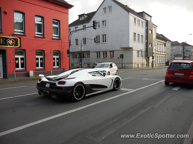 Koenigsegg Agera R spotted in Wuppertal, Germany