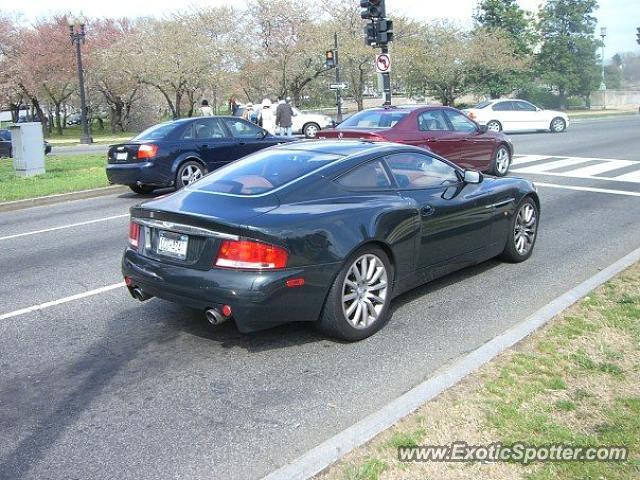Aston Martin Vanquish Spotted In Washington DC Virginia On - Aston martin washington dc