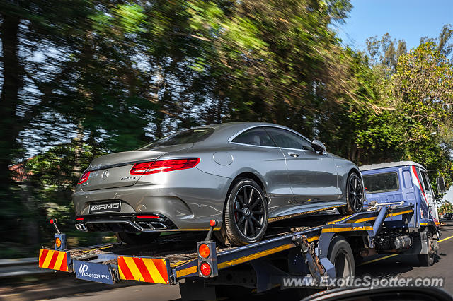 Mercedes S65 AMG spotted in Durban, South Africa