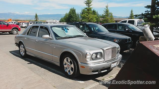 Bentley Arnage spotted in Teton Village, Wyoming