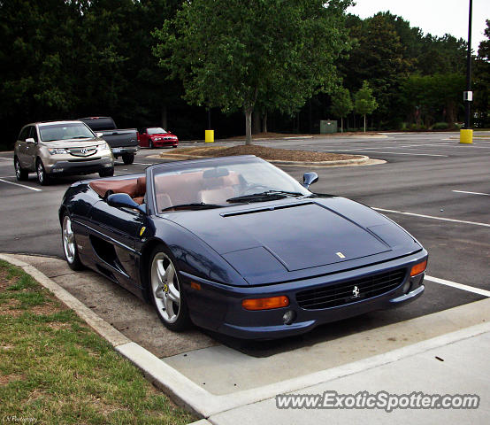 Ferrari F355 spotted in Cary, North Carolina