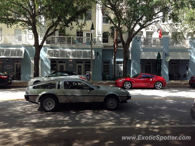 DeLorean DMC-12 spotted in Orlando, Florida