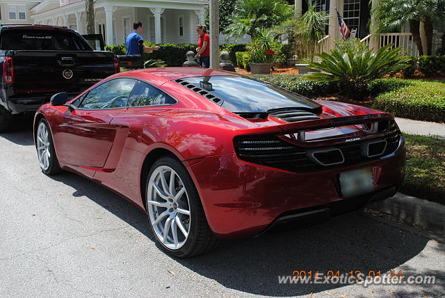 Mclaren MP4-12C spotted in Orlando, Florida