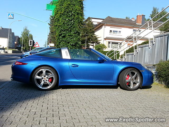 Porsche 911 spotted in Luxembourg, Luxembourg