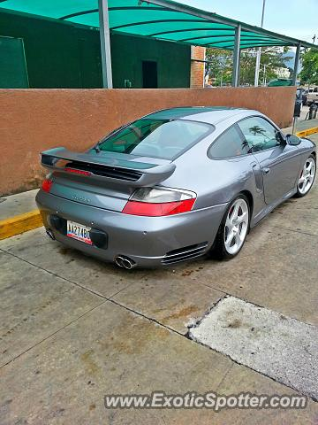 Porsche 911 Turbo spotted in Carabobo, Venezuela
