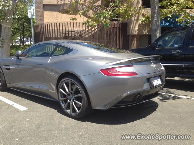 aston martin vanquish spotted in la jolla california on. Black Bedroom Furniture Sets. Home Design Ideas