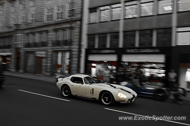 Shelby Daytona spotted in London, United Kingdom