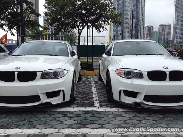BMW 1M spotted in Taguig, Philippines