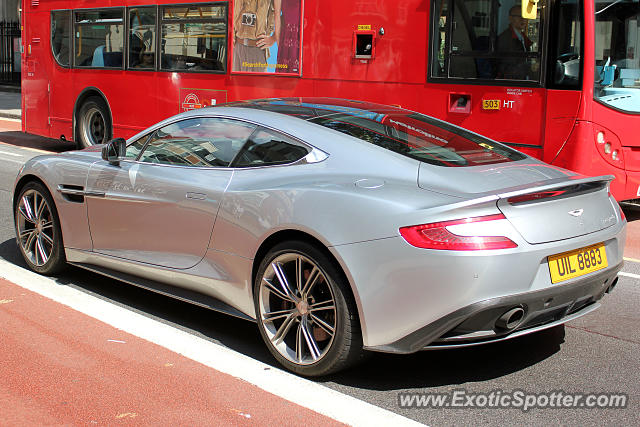 Aston United Kingdom  city pictures gallery : Aston Martin Vanquish spotted in London, United Kingdom on 08/07/2014