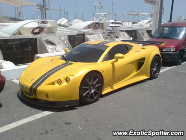 Ascari KZ1 spotted in Puerto Banus, Spain