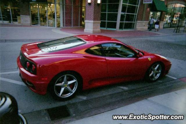 ferrari 360 modena spotted in salt lake city utah on 09 18 2008. Black Bedroom Furniture Sets. Home Design Ideas