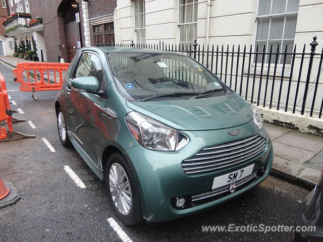 Aston Martin Cygnet spotted in London, United Kingdom