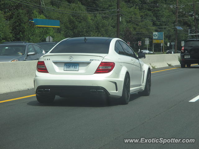 Mercedes c63 amg black series spotted in princeton new for Mercedes benz princeton nj