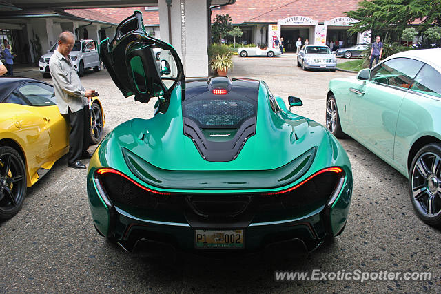 Mclaren P1 spotted in Pebble Beach, California