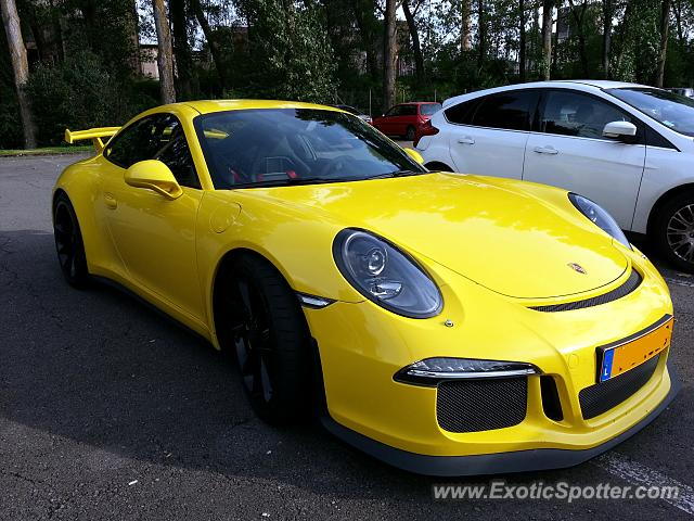 Porsche 911 GT3 spotted in Luxembourg, Luxembourg