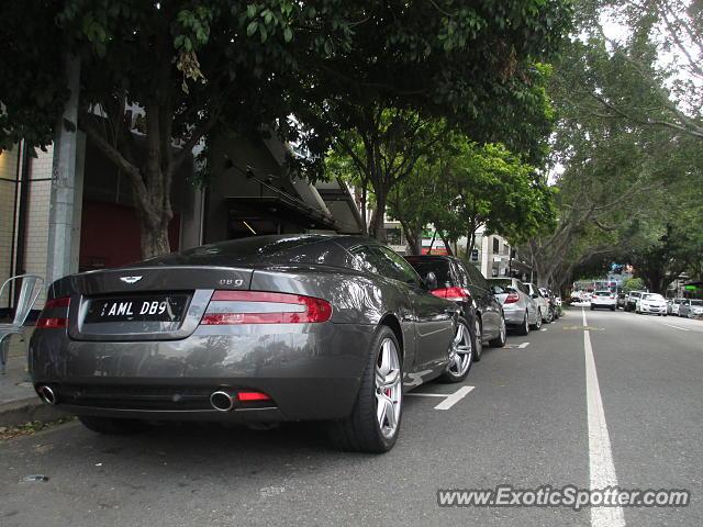 Aston Martin Db9 Spotted In Brisbane Australia On 09 13 2014