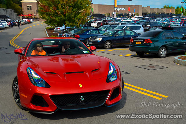 Ferrari F12 spotted in Pittsford, New York