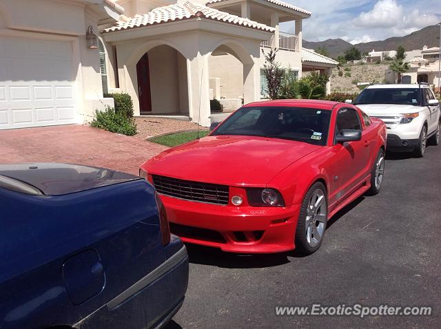 Saleen S281 spotted in El Paso, Texas