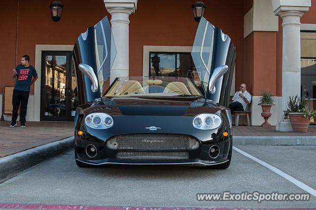 Spyker C8 spotted in Houston, Texas