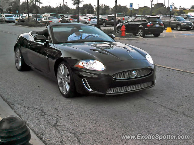 Jaguar XKR spotted in Schaumburg, Illinois