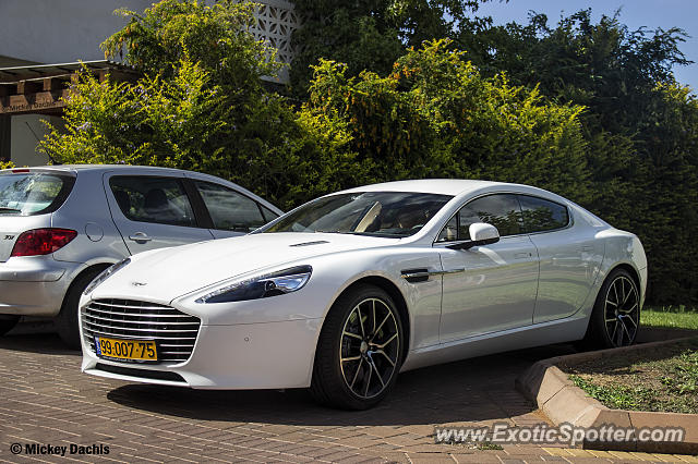 Aston Martin Rapide Spotted In Tel Aviv Israel On 09 26 2014 Photo 2