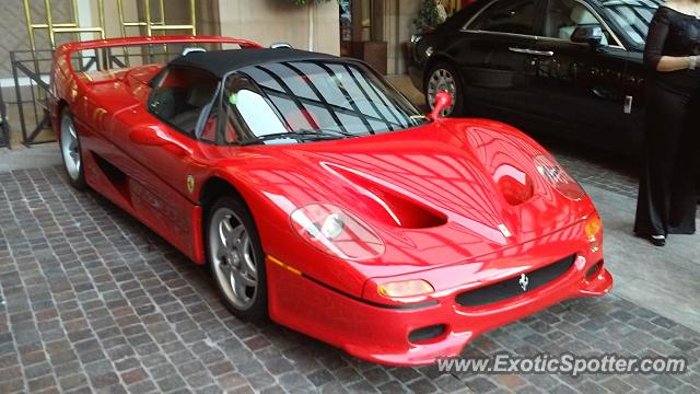 ferrari f50 spotted in beverly hills california on 10 11 2014. Cars Review. Best American Auto & Cars Review