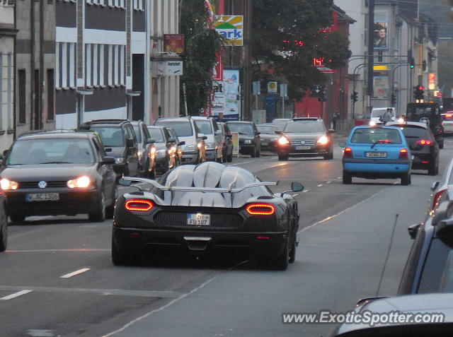 Koenigsegg One:1 spotted in Wuppertal, Germany