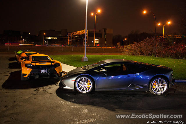 lamborghini huracan spotted in montreal canada on 10 28 2014. Black Bedroom Furniture Sets. Home Design Ideas