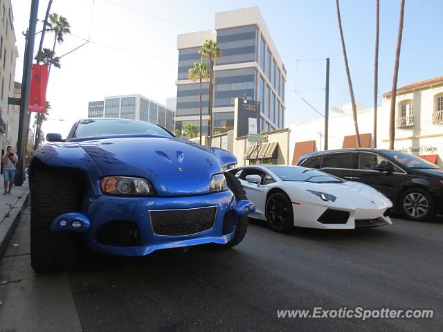 Youabian Puma spotted in Beverly Hills, California