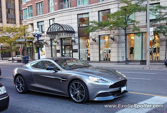 Aston Martin Vanquish Spotted In Toronto Ontario Canada On 10 11 2014