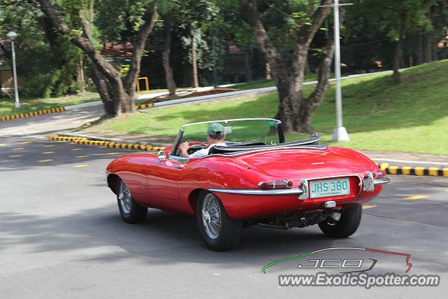 Jaguar E Type Spotted In Taguig City, Philippines