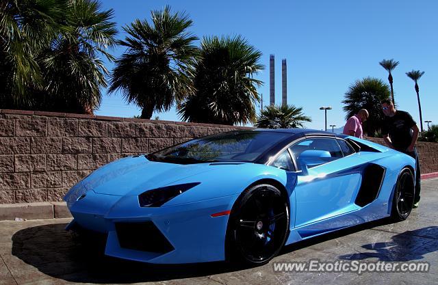 Lamborghini Aventador Spotted In Las Vegas, Nevada