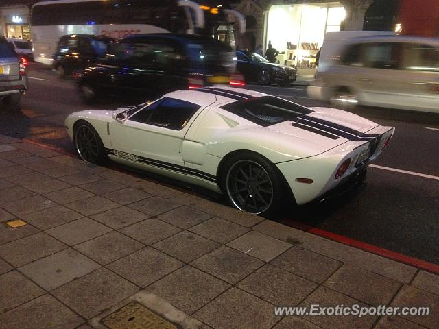 Ford GT spotted in London, United Kingdom