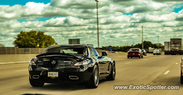 Mercedes SLS AMG spotted in Indianapolis, Indiana