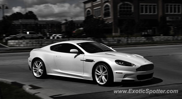 Aston Martin DBS Spotted In Indianapolis Indiana On - Aston martin indianapolis