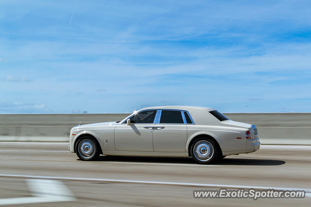 Rolls Royce Phantom spotted in Miami, Florida