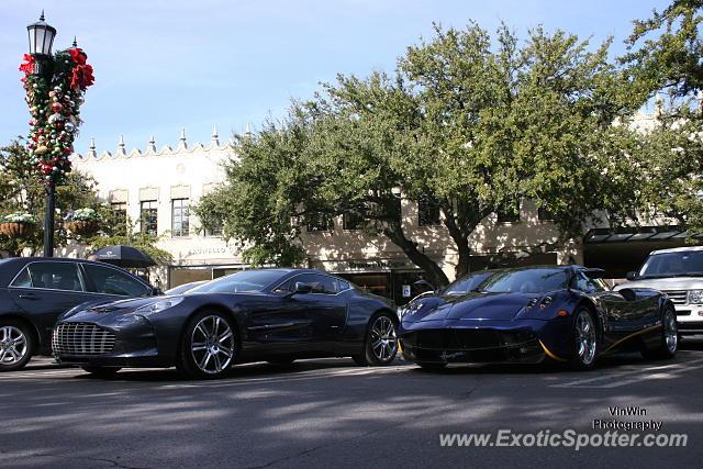 Aston Martin One Spotted In Dallas Texas On - Aston martin dallas