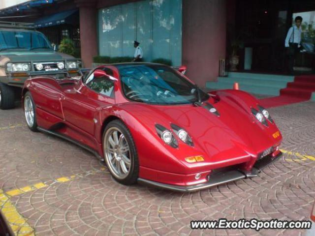 Pagani Zonda spotted in Kluang City, Malaysia on 01/01/2009