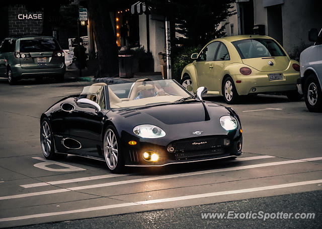 Spyker C8 spotted in Carmel, California
