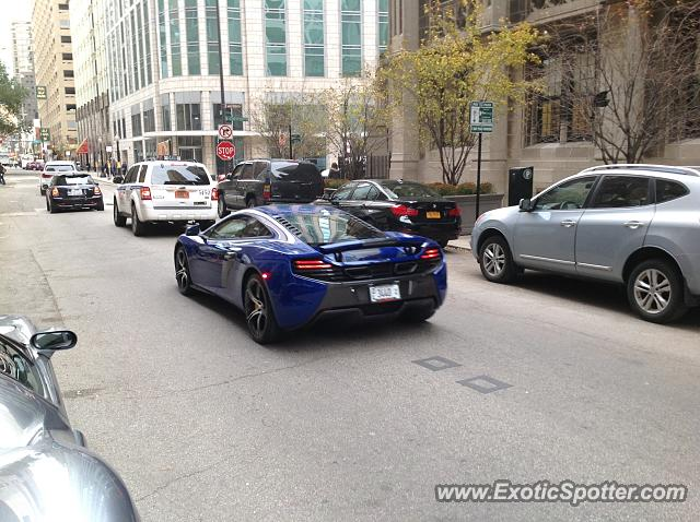 Mclaren 650S spotted in Chicago, Illinois