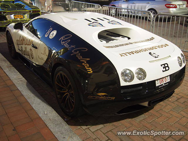 Bugatti Veyron spotted in D.C., Washington