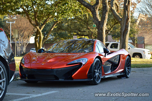Mclaren P1 spotted in Dallas, Texas