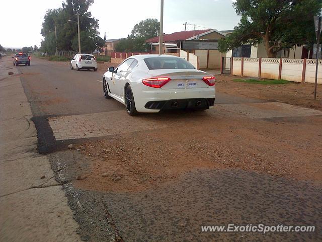 Klerksdorp South Africa  city photo : Maserati GranTurismo spotted in Klerksdorp, South Africa on 01/22/2015