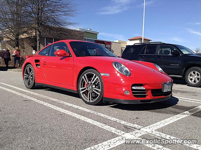 Porsche 911 Turbo spotted in Raleigh, North Carolina