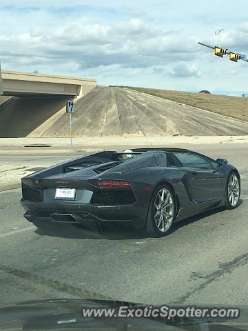 Attractive Lamborghini Aventador Spotted In San Antonio, Texas