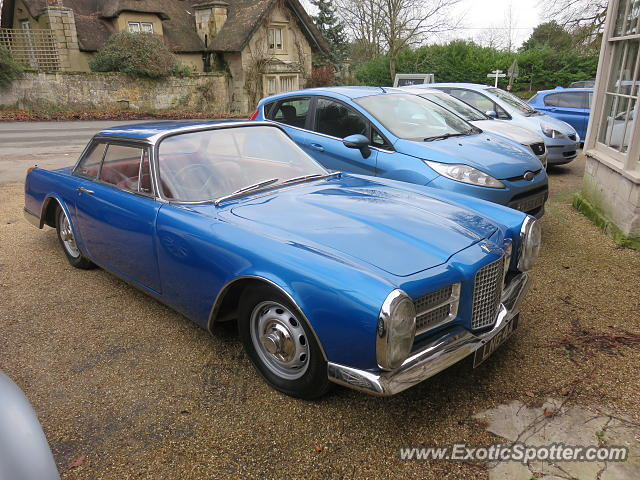 Facel Vega spotted in Fonthill Gifford, United Kingdom