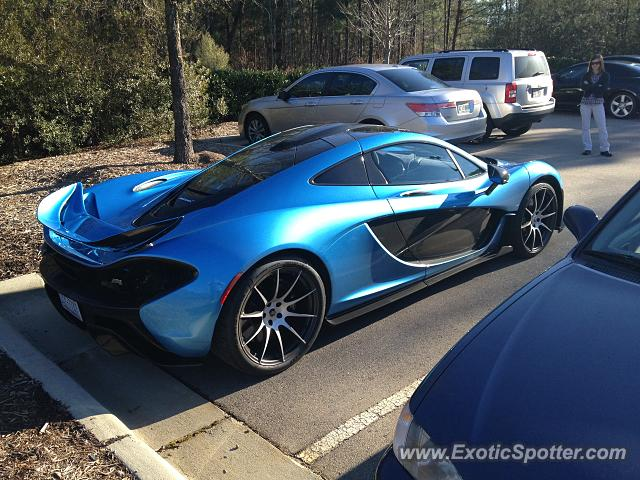 Mclaren P1 spotted in Cary, North Carolina on 02/11/2015 ...