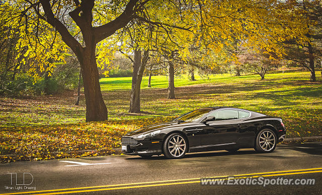 Aston Martin DB9 spotted in Birmingham, Michigan