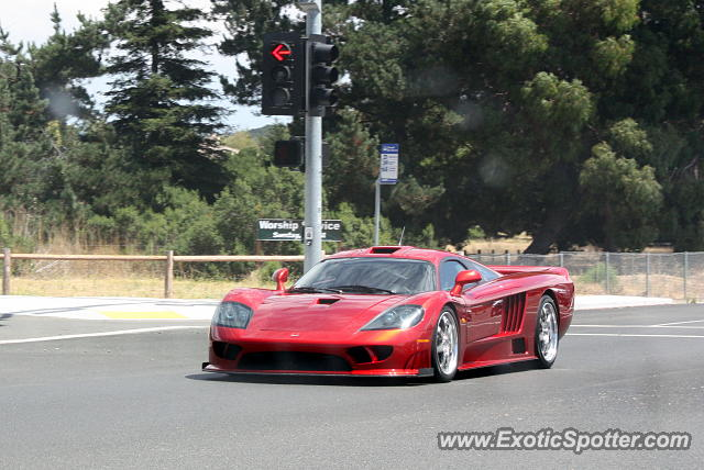 Saleen S7 spotted in Monterey, California